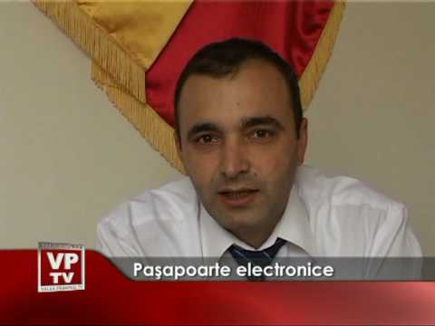 Pasapoarte electronice