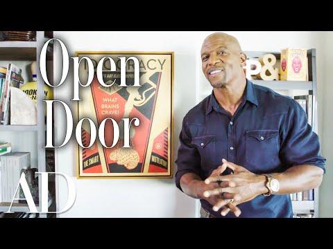 Inside Terry Crews' LA Man Cave | Open Door | Architectural Digest