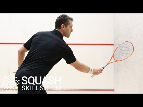 Squash tips: Forehand attacking options with David Palmer