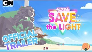 Check out this exclusive trailer from San Diego Comic Con for the new Steven Universe: Save the Light game! Coming soon to Console! Wanna little extra light to get you through the dark times spent waiting for the new game? Get Steven Universe: Attack the Light HERE: http://bit.ly/1DrAtpQCN GAMES: http://bit.ly/CNGamesSUBSCRIBE: http://bit.ly/109Y6wqWATCH MORE: http://bit.ly/1RBYuNiAbout Cartoon Network:Welcome to the Cartoon Network YouTube Channel, the destination for all of your favorite cartoons and videos. Watch clips from shows like Teen Titans Go!, Steven Universe, Clarence, Adventure Time, Uncle Grandpa, The Amazing World of Gumball and more!Connect with Cartoon Network Online:Visit Cartoon Network WEBSITE: http://bit.ly/90omi9Like Cartoon Network on FACEBOOK: http://on.fb.me/SULxhQFollow Cartoon Network on TWITTER: http://bit.ly/XqeBXfFollow Cartoon network on TUMBLR: http://bit.ly/1B3nUQFSteven Universe  Save The Light - San Diego Comic Con Official Trailer  Cartoon Networkhttps://youtu.be/KyLILFLNbKI