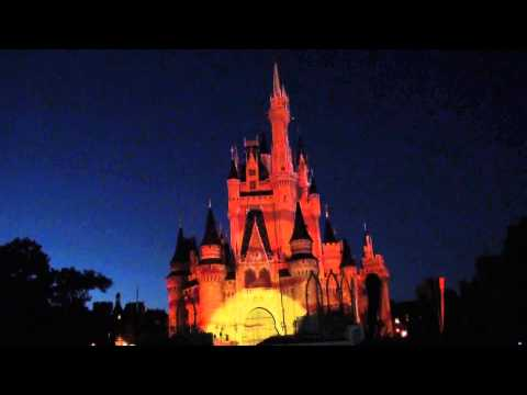 Walt Disney - The May 15, 2013 performance of Celebrate the Magic at the Magic Kingdom in Walt Disney World.