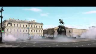 To jest coś pięknego! Kozacki pokaz driftu na ulicach Sankt Petersburga!