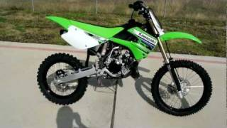 3. Over view and Review of the 2012 Kawasaki KX100 Motocross Bike