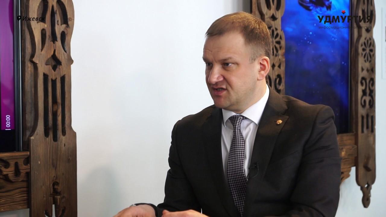 Интервью с председателем Гордумы Ижевска Олегом Гариным