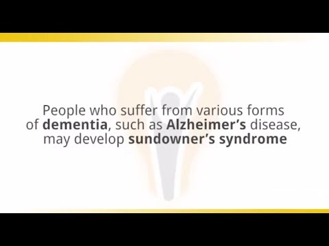 Sundowner's Syndrome — Light Therapy Tip