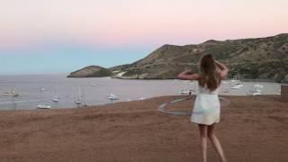 Hula Hoop fail on Catalina Island