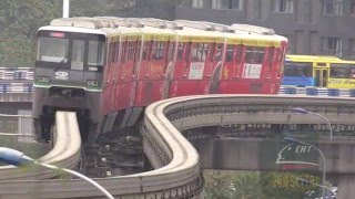 Chongqing China  city photos gallery : Chongqing China Monorail Line 2 Metro 重庆轨道交通(单轨)2号线