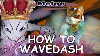 How To Wavedash – Mew2King