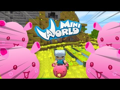 Pink Pink PinkGU LUCU - Mini World Block Art Survival Indonesia #2