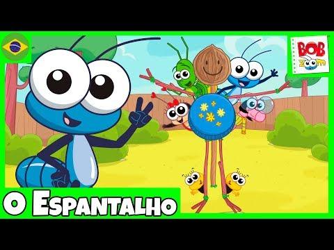 Videos musicales - Bob Zoom - O Espantalho - Video Infantil Musical Oficial