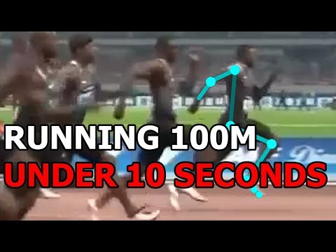RUNNING ANALYSIS: How Justin Gatlin Runs The 100m Under 10 Seconds