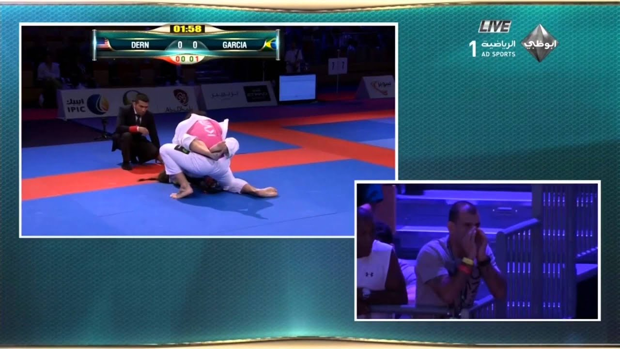Mackenzie Dern Vs Gabi Garcia Abu Dhabi World Pro 2015 Open Class Semi Final