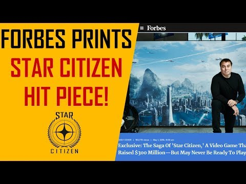 Star Citizen hit piece from Forbes!