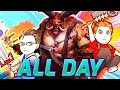 ALL DAY Heroes of the Storm | pt. 1 Pureshield & AverageAdam | Heroes of the Storm Gameplay