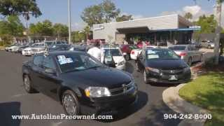 Autoline Preowned 2012 Dodge Avenger SE Walk Around Review Test Drive Used For Sale Jacksonville
