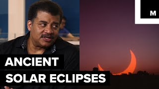 Ancient civilizations have used solar eclipses to predict patterns for the phenomena. They were pretty on point with how often eclipses happen. Neil deGrasse Tyson sat down with Meteorologist Joe Rao to discuss more about the solar eclipse.Listen to the full StarTalk podcast here: http://bit.ly/2v9D9pfStarTalk on Mashable is a video series, produced by Mashable and StarTalk Radio. StarTalk Radio is a podcast and radio program hosted by astrophysicist Neil deGrasse Tyson.StarTalk Radio on Twitter: https://twitter.com/StarTalkRadioStarTalk Radio on YouTube: https://www.youtube.com/user/startalkradio