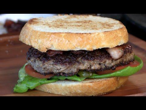Stuffed Peanut Butter & Jalapeno Burger! (Boulder Tap House Copycat)
