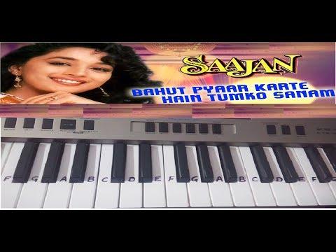 Video Bahut Pyaar Karte Hain tumko sanam Harmonium | Keyboard Piano Casio TUTORIAL download in MP3, 3GP, MP4, WEBM, AVI, FLV January 2017