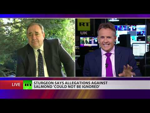 Scotland's Ex-First Minister, Alex Salmond On Accusations Of Sexual Harassment