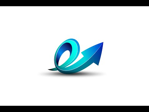 Illustrator Tutorial | 3D Logo Spiral Arrow