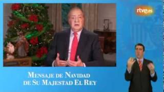 Mensaje  de Navidad del Rey en lengua de signos espaola.wmv