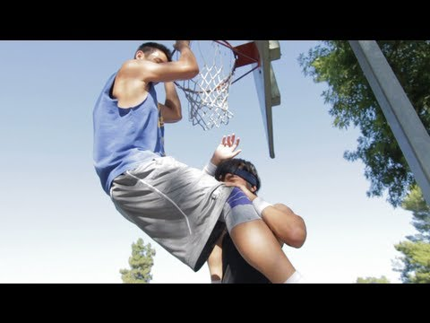 Jeremy Lin teaches  Kevjumba how to prepare for the NBA