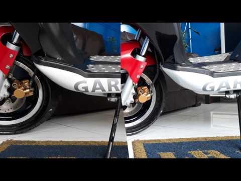 Revisão de Moto Concluida - Garini Gr 125 T3 Branca - 7969 - LR Motos