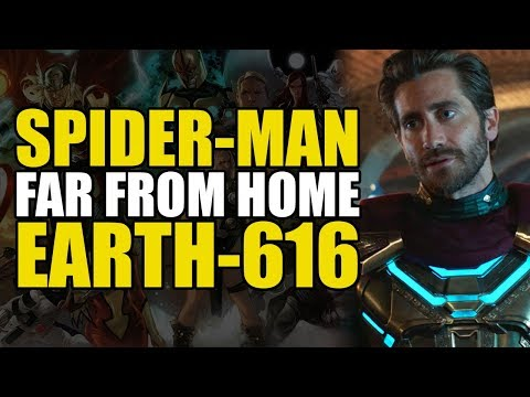 Spider-man Far From Home - Earth 616