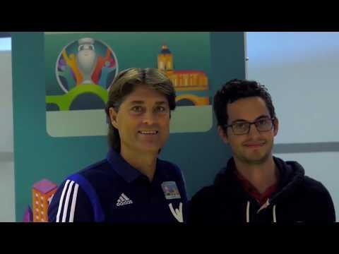 Julen Guerrero hace balance del proceso de captación de voluntarios en Bilbao para la EURO 2020