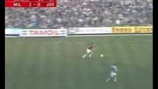Graziano Mannaris Tor gegen Juventus (1989)