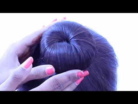 Curly hairstyles - latest juda hairstyle for weddings  easy hairstyles  new hairstyle  wedding hairstyle  juda