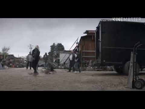 Iko Uwais fight scene Wu Assasins