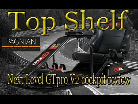 Next Level GTpro V2 Racing Simulator Cockpit Chair - Review - Top Shelf