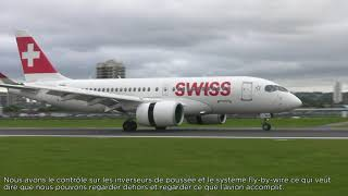 On August 8, SWISS, launch operator of the CS100 aircraft started commercial operations with the C Series aircraft at London City ...