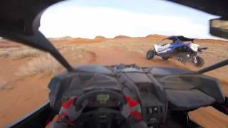 Video Benny Brappo out Testing The New Can Am Maverick X3 RS in the desert for a day! MP3, 3GP, MP4, WEBM, AVI, FLV November 2017