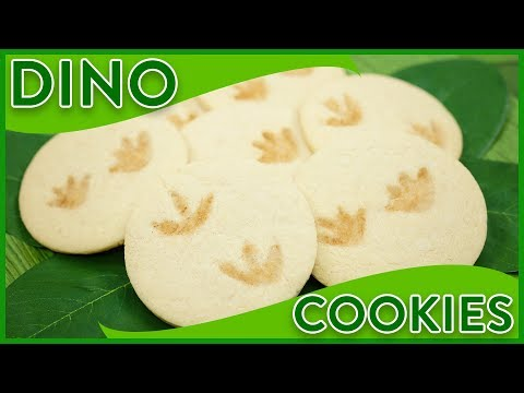 HOW TO MAKE DINOSAUR FOSSIL COOKIES - NERDY NUMMIES