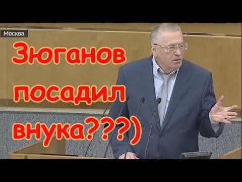 Зюганов посадил внука Жирик знает... - DomaVideo.Ru