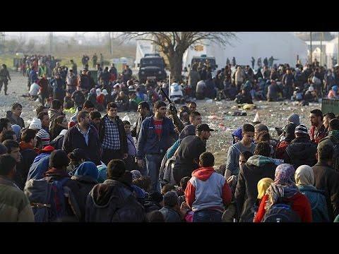 Balkanlar'da Suriye, Irak ve Afganistan dışından gelen mültecilere geçiş engeli
