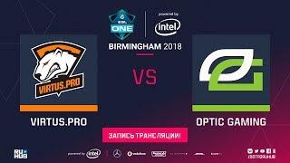 Virtus.pro vs OpTic, ESL One Birmingham, game 3 [Lex, Jam]