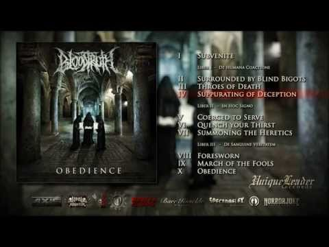 Bloodtruth - Obedience FULL ALBUM [Unique Leader Records]