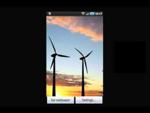 Video of Windmills at Sunset LWP