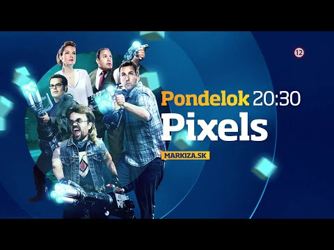 Pixels - v pondelok 15. 6. 2020 o 20:30 na TV Markíza видео
