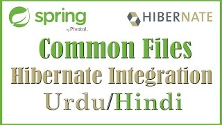 Tutorial 2 Common files and Connect Hibernate