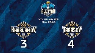 Матч Звезд КХЛ 2018. Харламов 3 - Тарасов 4