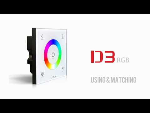 Touch panel RGB LED Controller LTECH D3