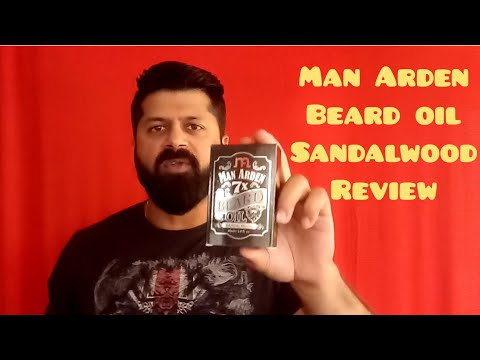 Man Arden 7x beard oil sandalwood review  Man Arden beard oil  Beard oil review  Vinod Khemani
