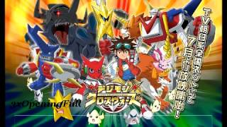 Digimon Xros Wars~Opening 7~Never Give Up (Full Version)