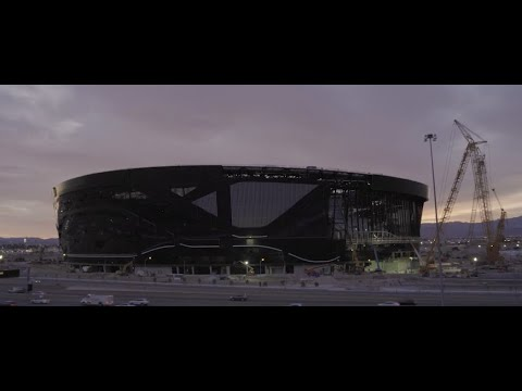 ALLEGIANT STADIUM; PRIVATE TOUR OF NFL RAIDERS' NEW CONQUEST