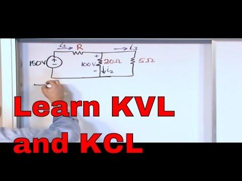 Kirchhoff's Laws in Circuit Analysis