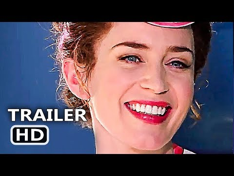 MARY POPPINS RETURNS Official Trailer # 2 (NEW 2018) Emily Blunt, Disney Movie HD - Thời lượng: 2:39.